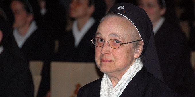 Schwester M. Adele Gertsen (Foto: Brehm)