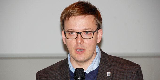 Frederik Schmitt, 1. Kreisbeigeordneter von Fulda (Foto: Brehm)