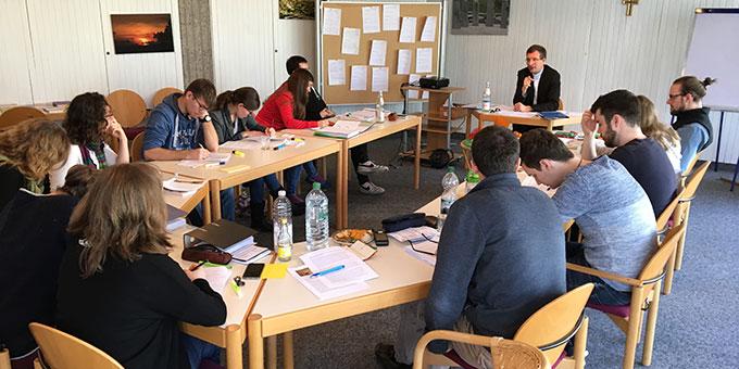 Um Textarbeit wird es auch im weiteren Verlauf des Fernkurses gehen (Foto: T.Brehm)