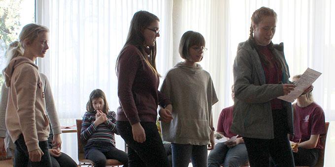 """Auf """"Schönstatt""""-Entdeckertour (Foto: Josefa Lehmann)"""