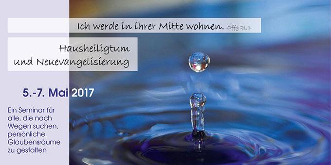 Tagung zum Hausheiligtum (Foto: N-Schmitz pixelio.de, Gestaltung: Brehm)