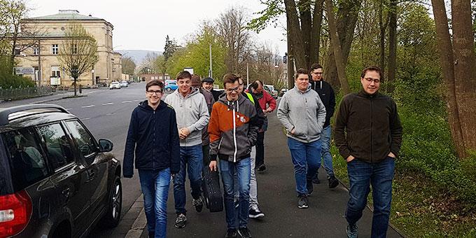 """Auf der """"Tour de Franz"""" (Foto: Nicholas Wolf)"""