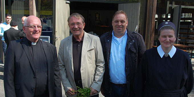 Mit Freunden aus Vallendar und Mühlheim-Kärlich (Foto: Brehm)