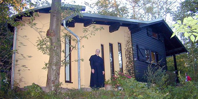 Die Einsiedelei von Pater Götz (Foto: Brehm Archivbild)