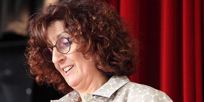 Sibylle Gottschalk lobt die Einsatzfreudigkeit des Jahrgangs (Foto: Schmitz)