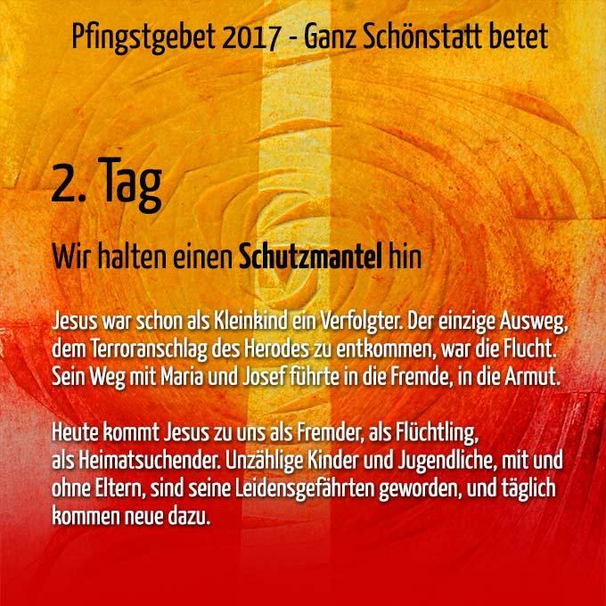 Pfingstgebet 2017 (Grafik: Kiess)