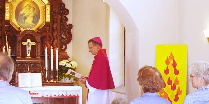 Feierstunde im Schönstatt-Heiligtum in Oberkirch (Foto: Wehle)