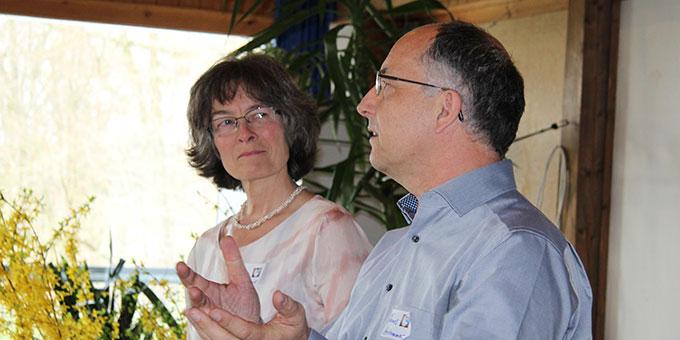 Ella und Thomas Herkommer, Referenten beim Familientag (Foto: Straubmaier)