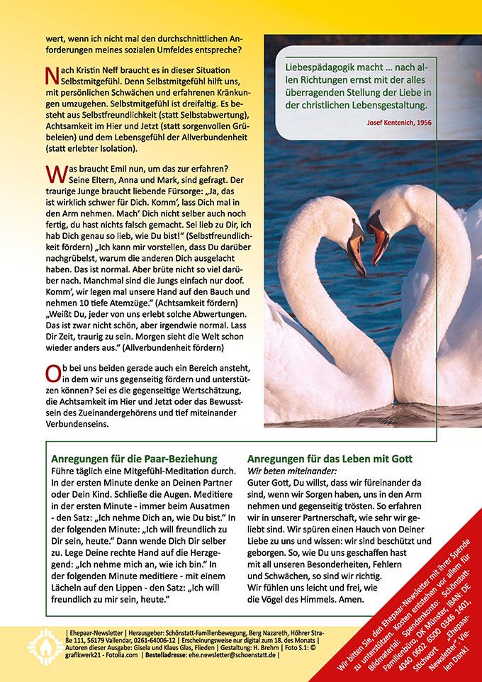 """Ehepaar-Newsletter 05/2017 """"Wir zwei - Immer wieder neu&quot"""