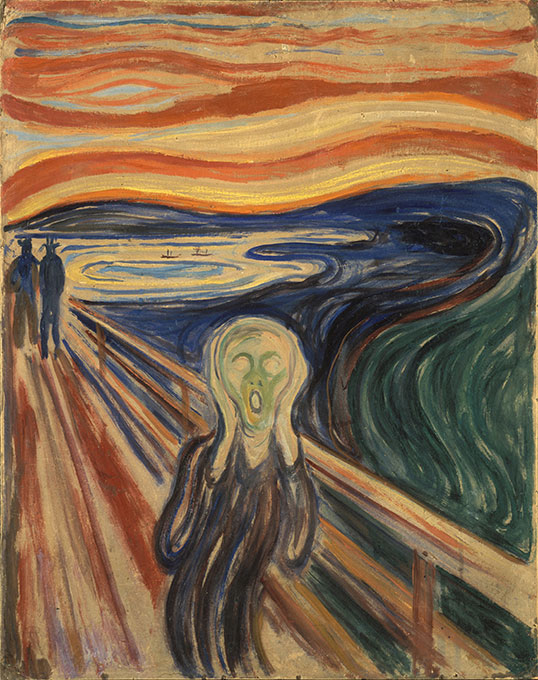 Von Edvard Munch (Foto: Google Art Project, Gemeinfrei)