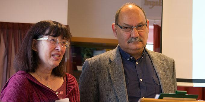Europaforum: Erika und Károly Varga (Foto: Lilek)