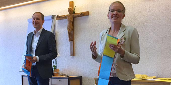 Referenten: Ramona und Benjamin Brähler (Foto: Pille)