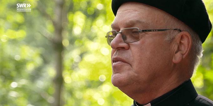 Pater Wolfgang Götz (Foto: SWR Filmausschnitt)