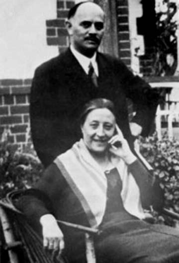 Fritz Kühr mit seiner Frau Helene (Foto: Archivfoto)
