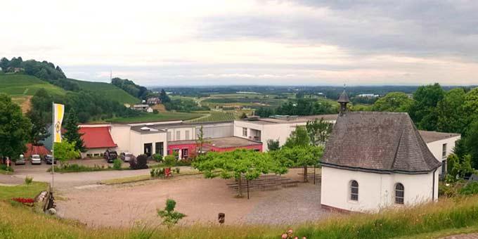Schönstatt-Zentrum Marienfried, Oberkirch von der Marienläule aus gesehen (Foto: Marienfried)