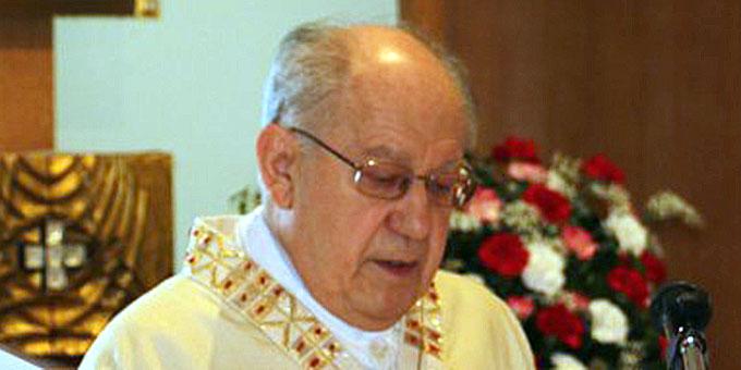 Pfarrer i.R. Leonhard Erhard feierte 50 Jahre Priestertum (Foto: Loriz)