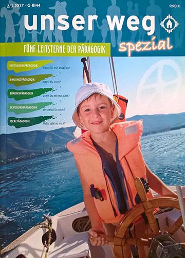 Cover von Unser Weg spezial: Fünf Leitsterne der Pädagogik