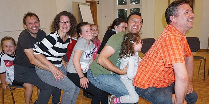 Die Familien hatten Spaß beim Familie-Camp im Schönstatt-Zentrum Würzburg (Foto: Fella)