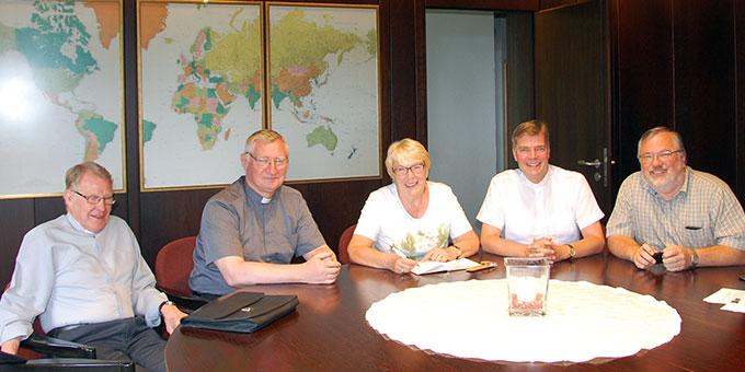 Einige Mitglieder des Schönstatt-Ökumene-Arbeitskreises (Foto: privat)