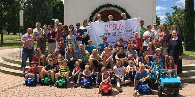 Die Teilnehmer des Familiencamps der Schönstatt-Familienbewegung Fulda (Foto: Furgoll)