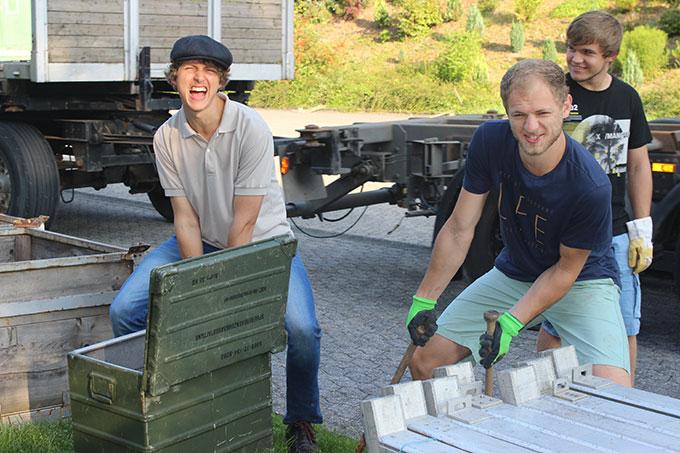 Und Action ... (Foto: Jule Gärtner)