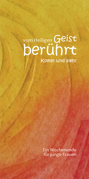 Flyer Berufungstagung (Grafik: Maria Kiess)