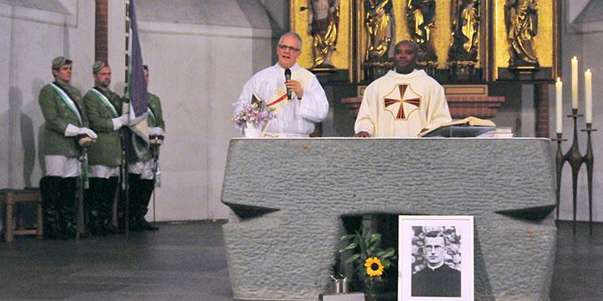 Eucharistiefeier in der Propsteikirche St. Nikolaus in Kiel (Foto: privat)