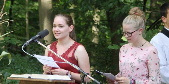 Beim Festgottesdienst an Maria Himmelfahrt am Canisiushof, Kösching (Foto: Tanja Gebauer)