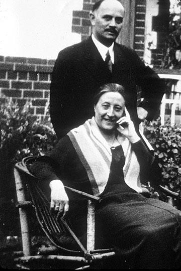 Fritz und Helene Kühr (Foto: Archiv)