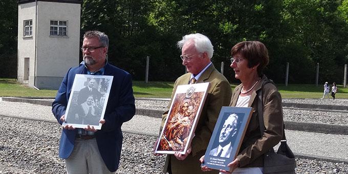 Gedenkfeier in der KZ-Gedächtnisstätter Dachau (Foto: Gonzáles)