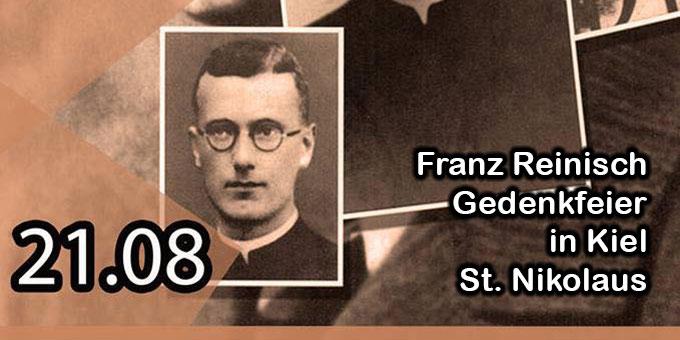 Franz Reinisch Gedenkfeier in Kiel