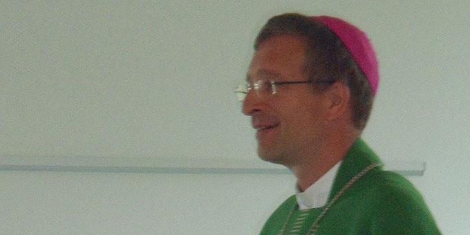 Weihbischor Dr. Michael Gerber, Freiburg (Foto: Brüstle)