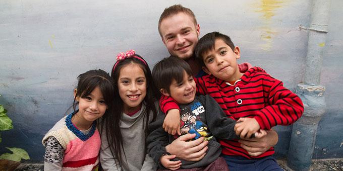 Im Casa del Niño sollen die Kinder viel Liebe und gute Beziehungen erfahren (Foto: privat)