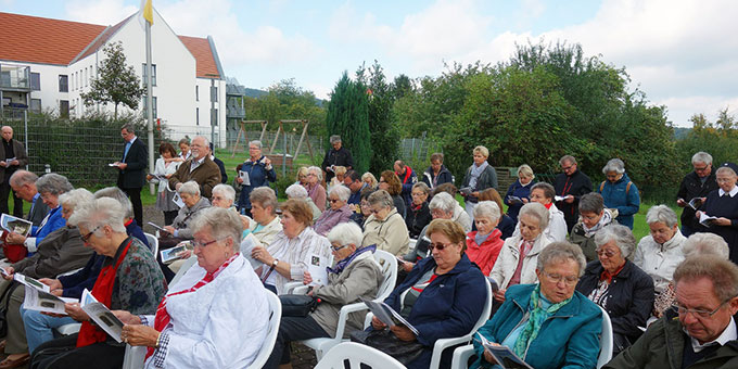 Tag der Begegnung in Bad Salzdetfurth, Bistum Hildesheim (Foto: Nardslei Bernades–Passon)