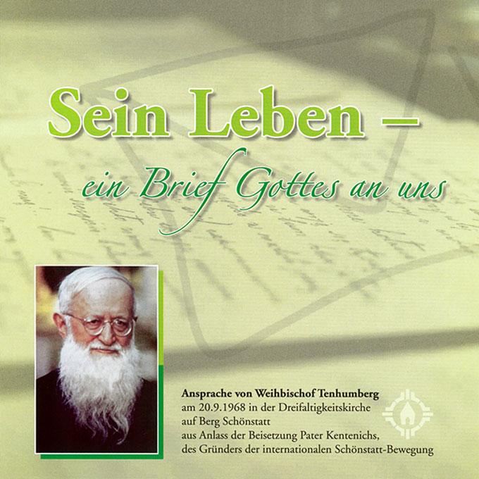 Broschüre: Sein Leben - ein Brief Gottes an uns - Cover