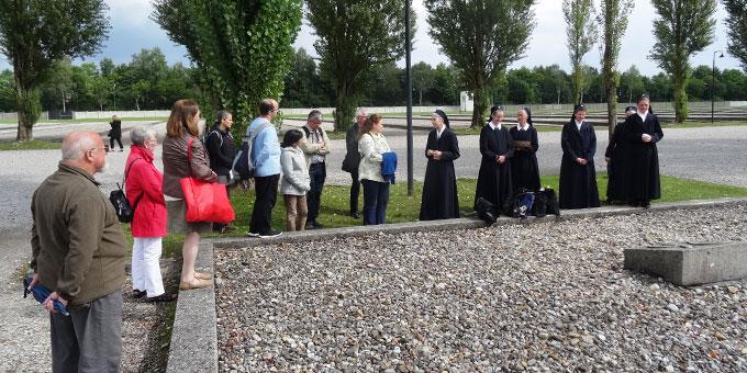 Pater Albert Eise starb im KZ Dachau im Gebäude Block 7 (Foto: Sr. M. Charissa Frenzl)
