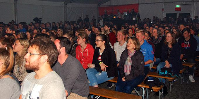 Über 500 junge Menschen nehmen in diesem Jahr an der NdH teil (Foto: Brehm)