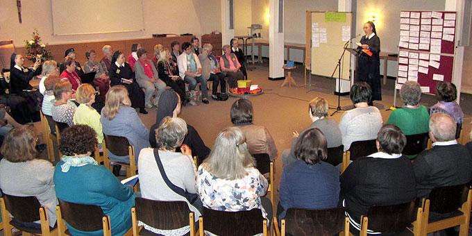 Jahreskonferenz Schönstattbewegung Frauen und Mütter im spannenden Prozess der Jahreslosungssuche (Foto: SAL)