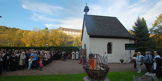 Internationale Bündnisfeier am Schönstatt-Tag, dem 18. Oktober am Urheiligtum in Schönstatt/Vallendar (Foto: Brehm)