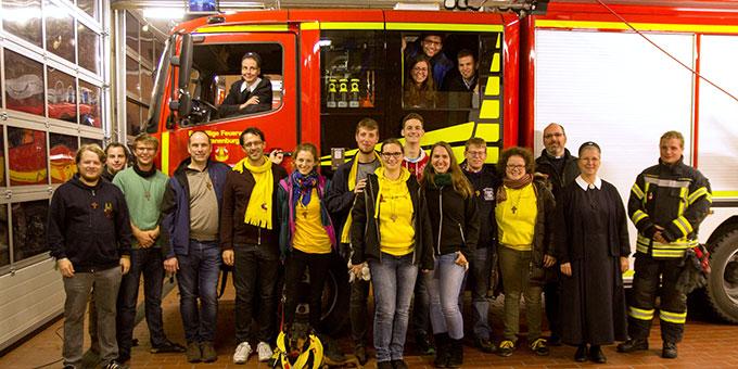 Begegnung mit der freiwilligen Feuerwehr (Foto: misiones)