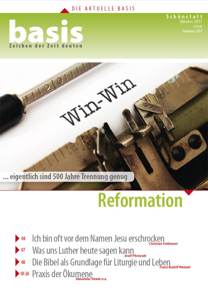 Cover der neuen basis-Ausgabe