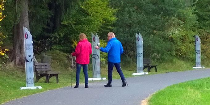 Der Eheweg der Schönstatt-Familienbewegung in Geroldstein (Foto: Schlüter)