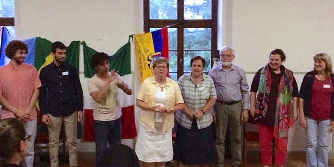 Begegnung im mit Vertretern verschiedener Gemeinschaften im Bundesheim in Schönstatt/Vallendar (Foto: Zabala)