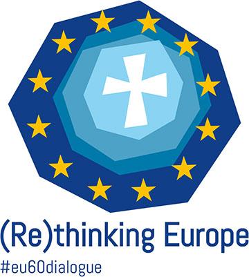 Kongress-Logo (Re)Thinking Europe (Grafik: COMECE)