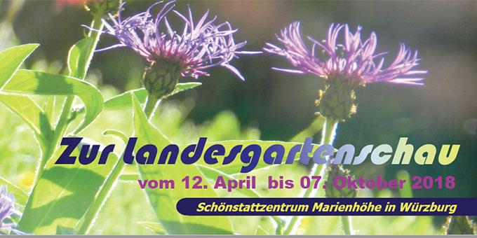 Flyer zur Landesgartenschau