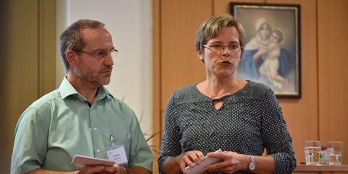 Neu im Standesleitungs-Team: Ehepaar Manuela und Peter Miller, Salach (Foto: Kröper)