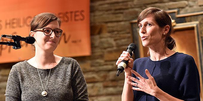 Martina Schidla und Jessica Fiederling  (Foto: Kröper)
