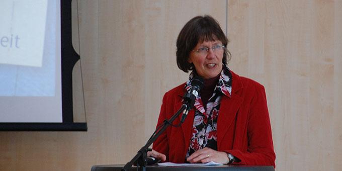 Die Referentin Claudia Brehm aus Schönstatt/Vallendar (Foto: Brehm)