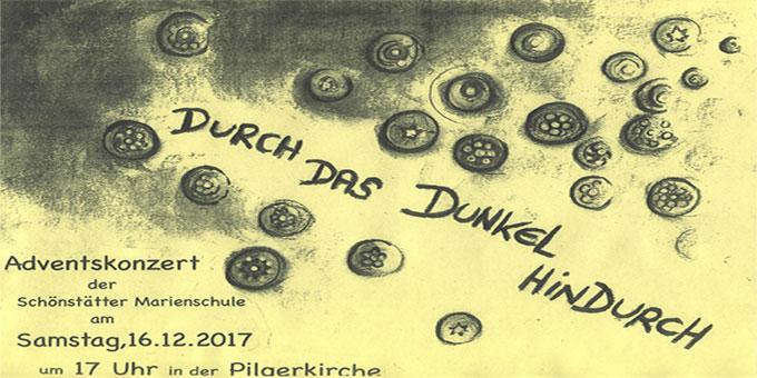 Plakat Adventskonzert (Foto: SMSchule)