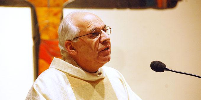 Predigt: Pater Theo Breitinger ISch, Vorsitzender des Landespräsidiums der Schönstatt-Bewegung Deutschland  (Foto: Brehm)